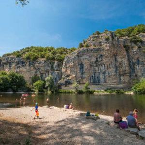 Baignade et plage naturelles en Dordogne
