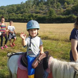 Balade à poney pour les plus petits