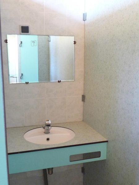 Des lavabos individuels