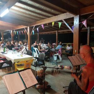 Soirée musicale pour les campeurs