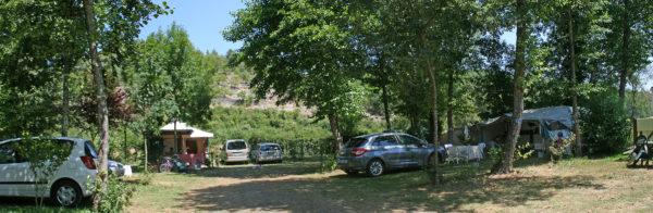 Emplacement de tente près de Sarlat