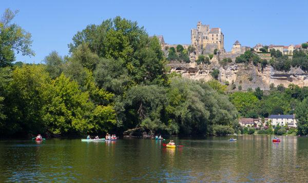 Sortie canoë sur la Dordogne