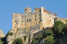 Vue du château de Beynac en Dordogne