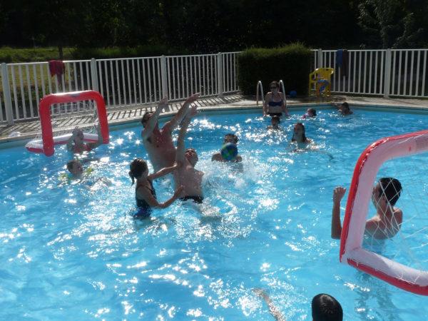 Des animations dans la piscine chauffée