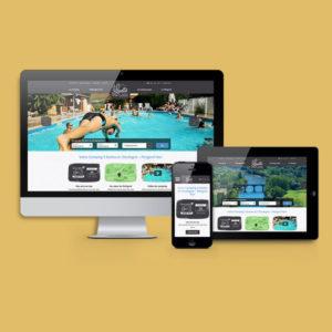Visuel du site internet La Lénotte sur différents supports numériques