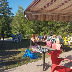 Le snack-bar du camping