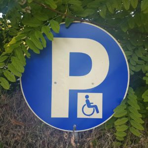 Emplacement de parking PMR