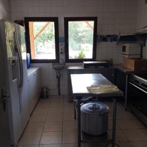 Location de salle avec cuisine équipée