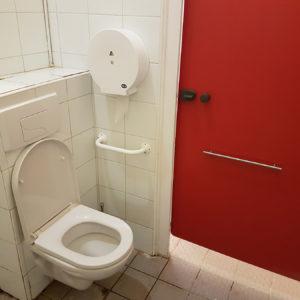 Toilette pour personne à mobilité réduite