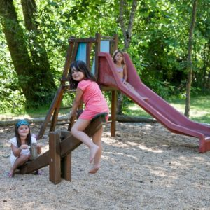 Aire de jeux du camping La Lénotte