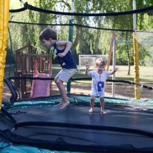trampoline pour les petits